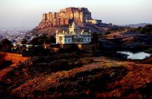 Thada & Fort at Sunrise