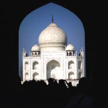 First Taj View
