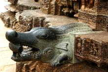 Crocodile Carving