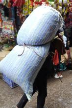 Burden on the back